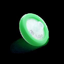 Filtre pour seringue à membrane PES (polyethersulfone)
